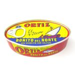 Ortiz Bonito Fillets (White Tuna) in Olive Oil, Tin - 112g